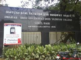 Dwaraka Doss Goverdhan Doss Vaishnav College Photos