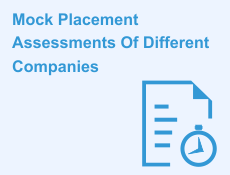 Mock Placement Assessments of different companies