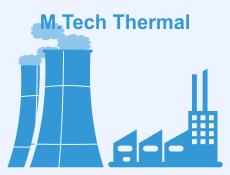 M.Tech Thermal