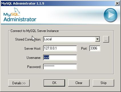 introduction to MySQL Administrator Server Installation