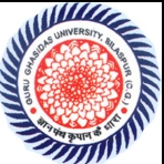 GGCU-Guru Ghasidas Central university