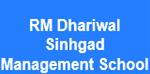 RMDSMS-R M Dhariwal Sinhgad Management School