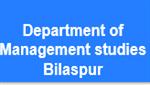 DMS-Department of Management studies Bilaspur