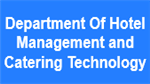 DHMCT-Department Of Hotel Management and Catering Technology