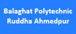 BPRA-Balaghat Polytechnic Ruddha Ahmedpur
