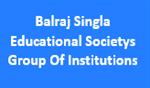 BSESGI-Balraj Singla Educational Societys Group Of Institutions