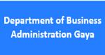 DBA-Department of Business Administration Gaya