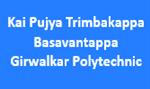 KPTBGP-Kai Pujya Trimbakappa Basavantappa Girwalkar Polytechnic