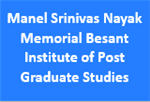 MSNMBIPGS-Manel Srinivas Nayak Memorial Besant Institute of Post Graduate Studies