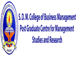 SDMCBMPGCMSR-S D M College of Business Management And Post Graduate Centre For Management Studies and Research