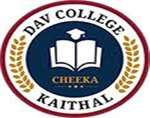 DAVC-DAV College Cheeka