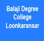 BDCL- Balaji Degree College Loonkaransar