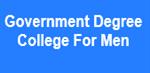 GDCM-Government Degree College For Men