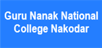 GNNCN-Guru Nanak National College Nakodar