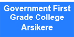 GFGC-Government First Grade College Arsikere