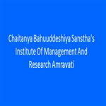 CBSIMR-Chaitanya Bahuuddeshiya Sansthas Institute Of Management And Research Amravati