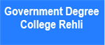 GDC-Government Degree College Rehli