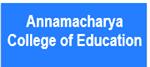 ACE-Annamacharya College of Education