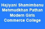 HSMPMGCC-Hajiyani Shamimbanu Mehmudkhan Pathan Modern Girls Commerce College
