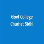 GCCS-Govt College Churhat Sidhi