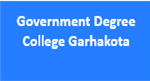 GDC-Government Degree College Garhakota