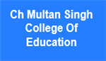 CMSCE-Ch Multan Singh College Of Education