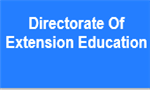 DEE-Directorate Of Extension Education