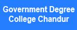 GDCC-Government Degree College Chandur