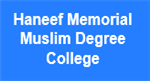 HMMDC-Haneef Memorial Muslim Degree College