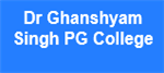 DGSPGC-Dr Ghanshyam Singh PG College