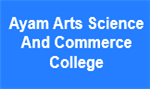 AASCC-Ayam Arts Science And Commerce College