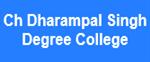 CDSDC-Ch Dharampal Singh Degree College