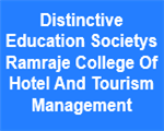 DESRCHTM-Distinctive Education Societys Ramraje College Of Hotel And Tourism Management