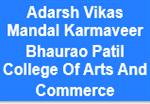 AVMKBPCAC-Adarsh Vikas Mandal Karmaveer Bhaurao Patil College Of Arts And Commerce