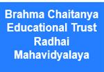 BCETRM-Brahma Chaitanya Educational Trust Radhai Mahavidyalaya