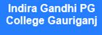 IGPGC-Indira Gandhi PG College Gauriganj