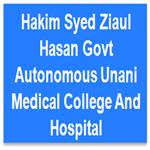 HSZHGAUMCH-Hakim Syed Ziaul Hasan Govt Autonomous Unani Medical College And Hospital