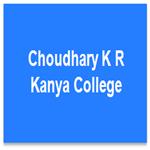 CKRKC-Choudhary K R Kanya College