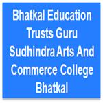 BETGSACCB-Bhatkal Education Trusts Guru Sudhindra Arts And Commerce College Bhatkal