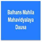 BMMD-Balhans Mahila Mahavidyalaya Dausa