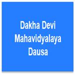 DDMD-Dakha Devi Mahavidyalaya Dausa