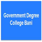 GDC-Government Degree College Bani