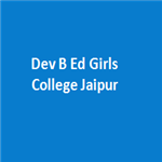 DBEGCJ-Dev B Ed Girls College Jaipur