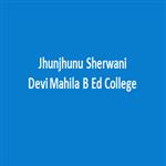 JSDMBEC-Jhunjhunu Sherwani Devi Mahila B Ed College