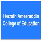 HACE-Hazrath Ameeruddin College of Education