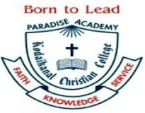 KCC-Kodaikanal Christian College