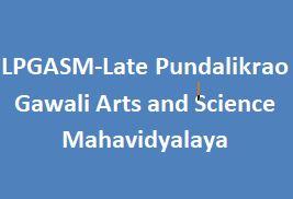 LPGASM-Late Pundalikrao Gawali Arts and Science Mahavidyalaya