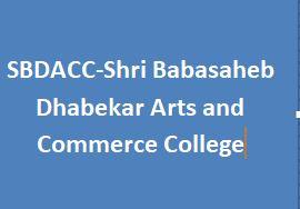SBDACC-Shri Babasaheb Dhabekar Arts and Commerce College