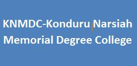 KNMDC-Konduru Narsiah Memorial Degree College