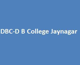 DBC-D B College Jaynagar